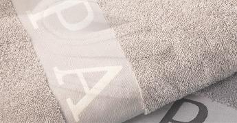 Advertising towels