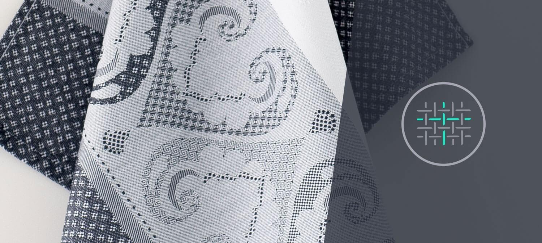 Жаккардовое ткачество